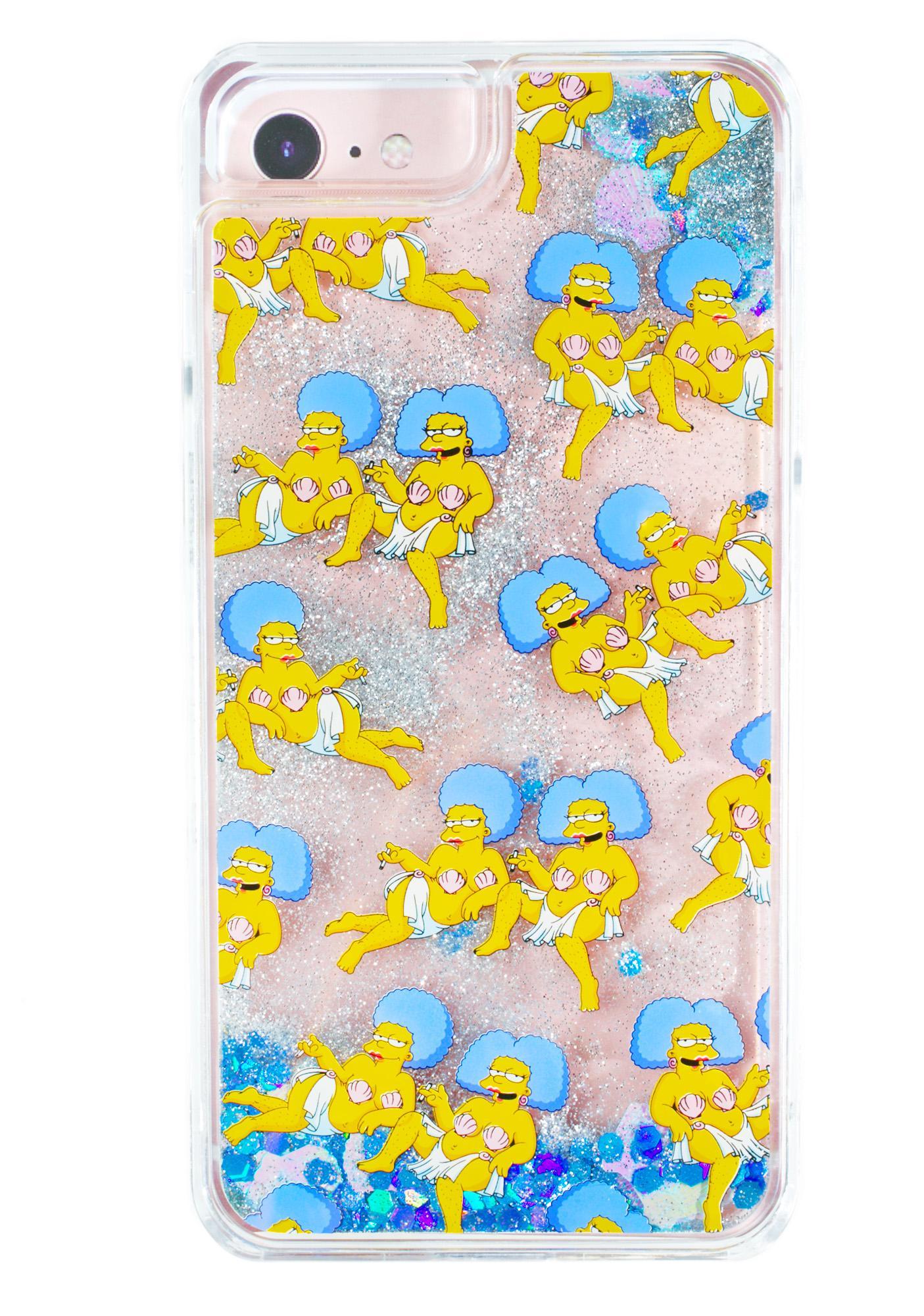 Skinnydip Patti & Selma Glitter iPhone Case