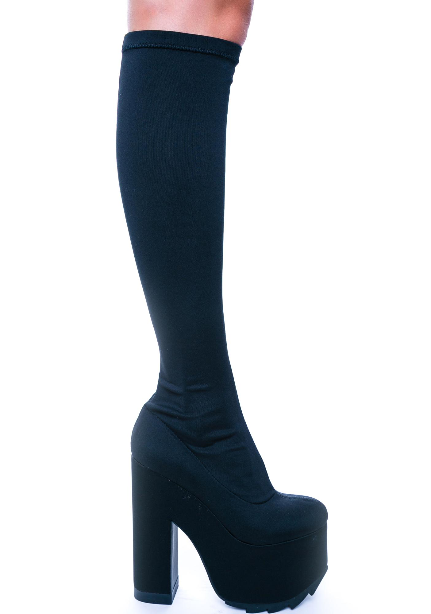 Y.R.U. Labyrinth Zipper Toe Boot