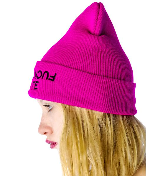 Hellz Bellz x Belle of the Brawl Polite Beanie