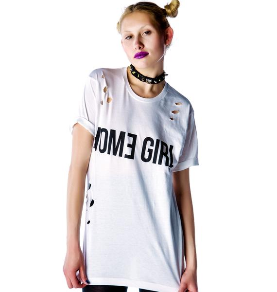 Kill Brand Home Gurl Distressed Tee