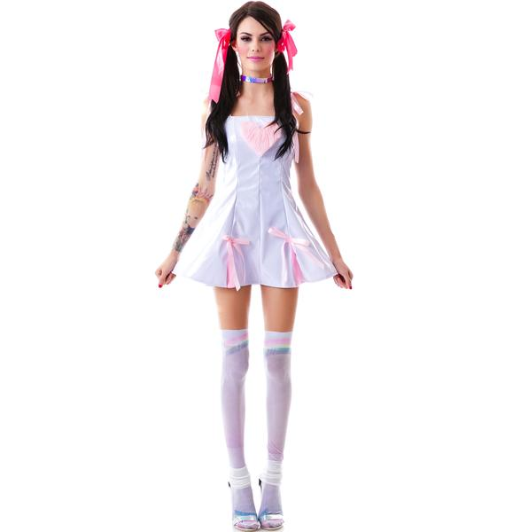 Vinyl Heart Breaker Dress