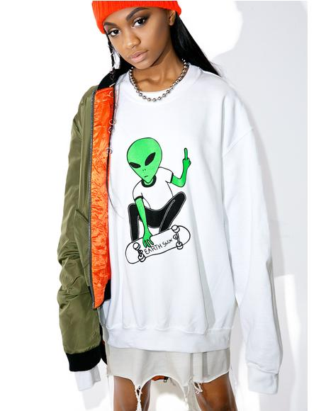 Earth Sux Crewneck