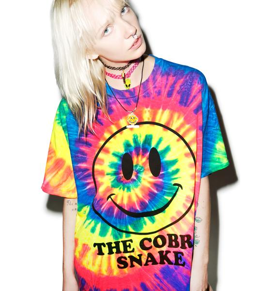 The Cobra Snake Happy On Ecstasy Tee