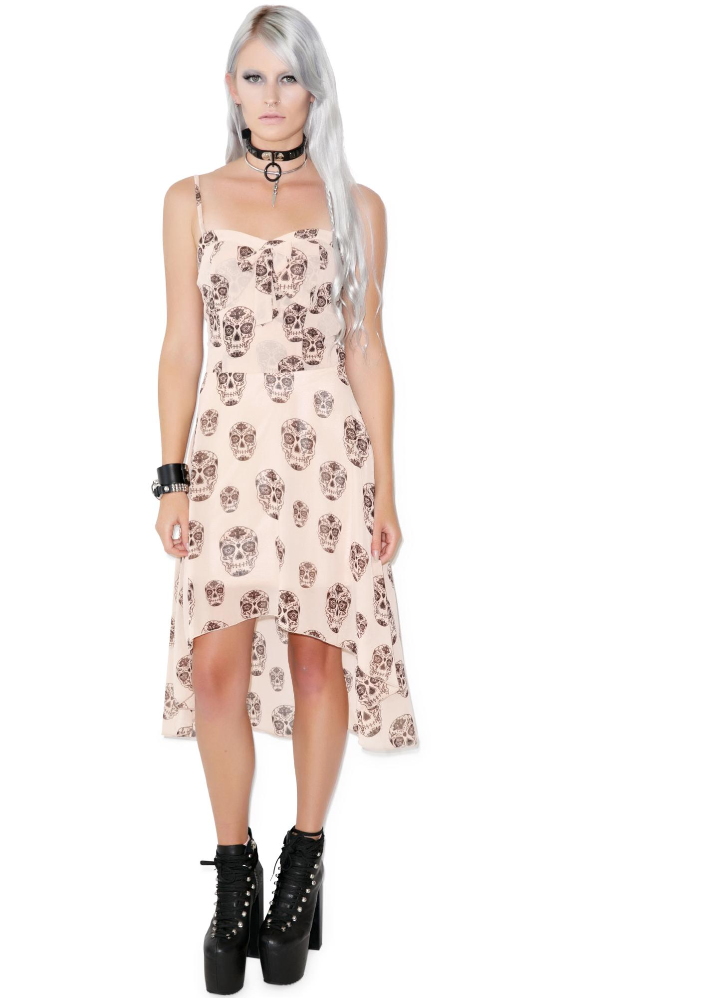 Suga Mama Chiffon Hi-Low Dress