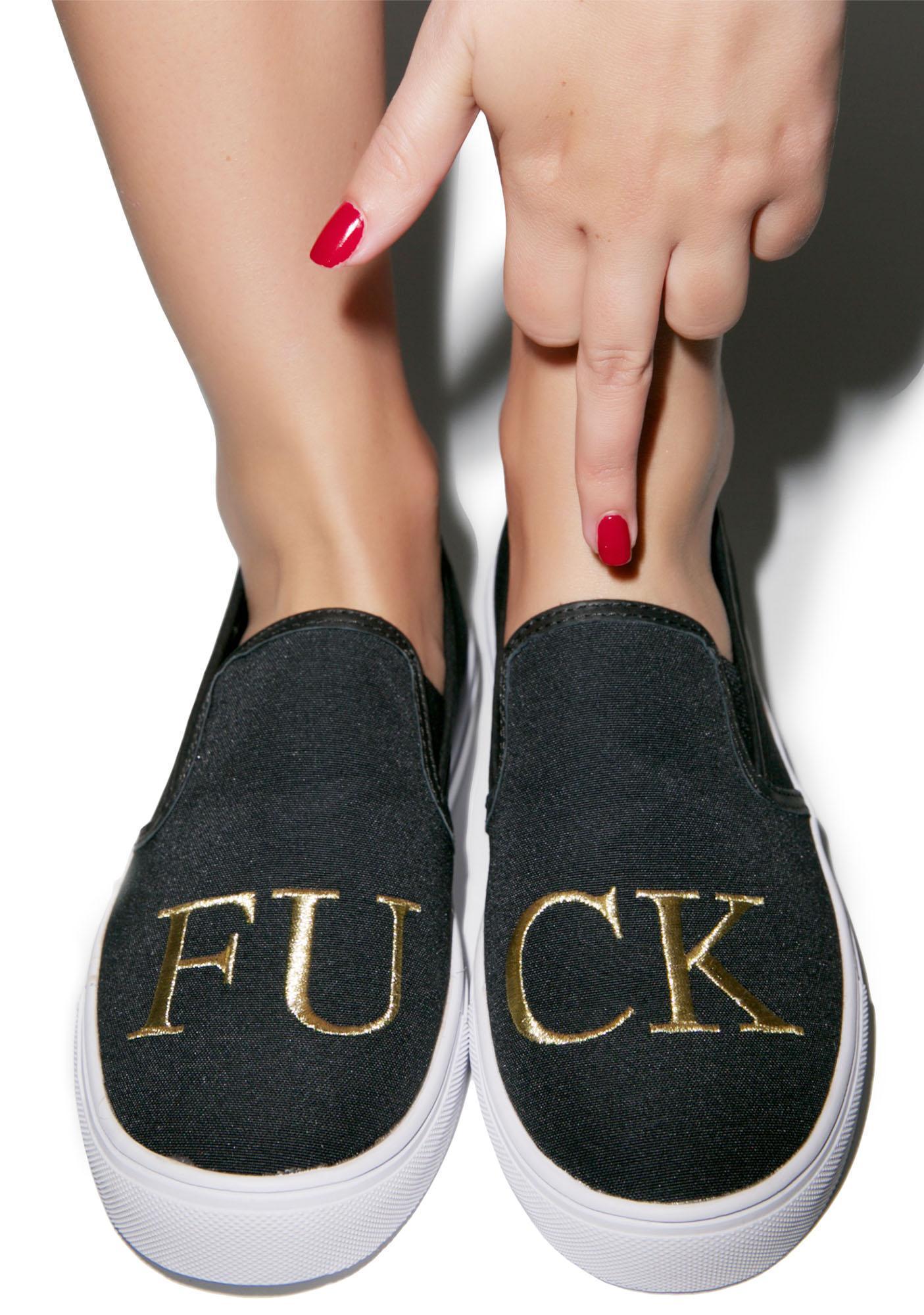 Y.R.U. Chill FU CK Slip-On Sneaker