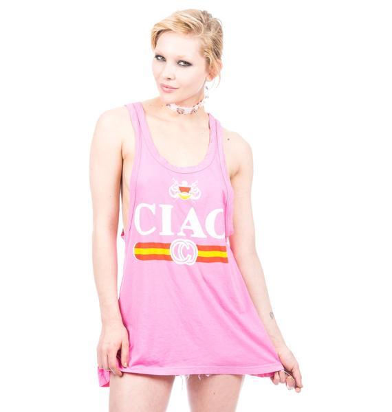 Rebel Yell Ciao Racerback Tank Tunic