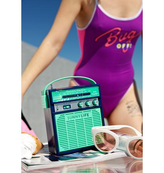 Blue Hawaii Portable Speaker