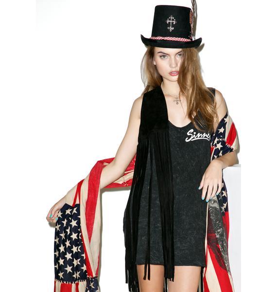 Wildfox Couture Sinner Cheyenne Romper