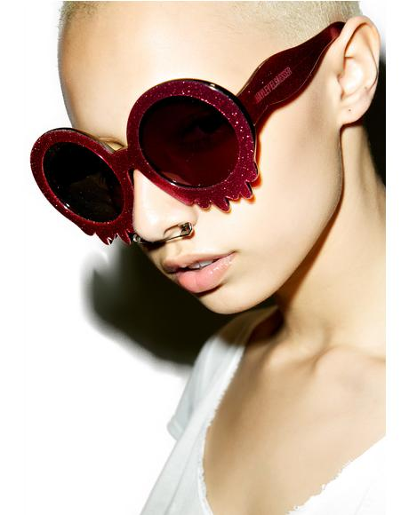 Pink Slime Time Sunglasses