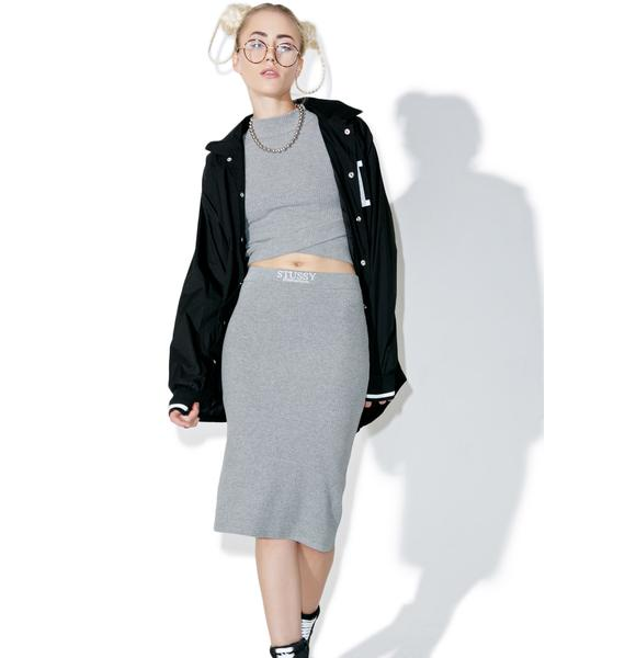 Stussy Lockwood Midi Skirt