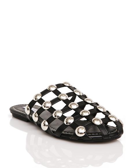 Confined Slide Sandals