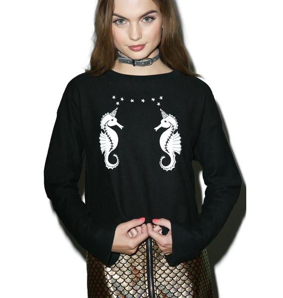 Valfré Sea Unicorn Sweatshirt