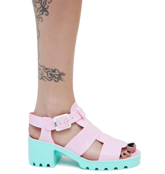 Juju Shoes Cotton Candy Kyra Sandals