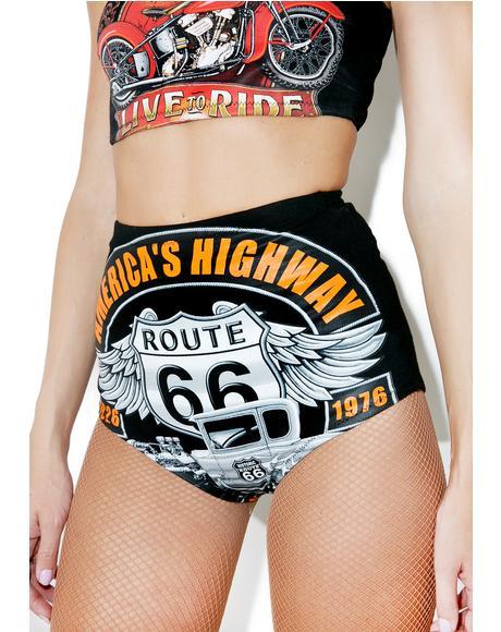 Thunder Road Hot Shorts