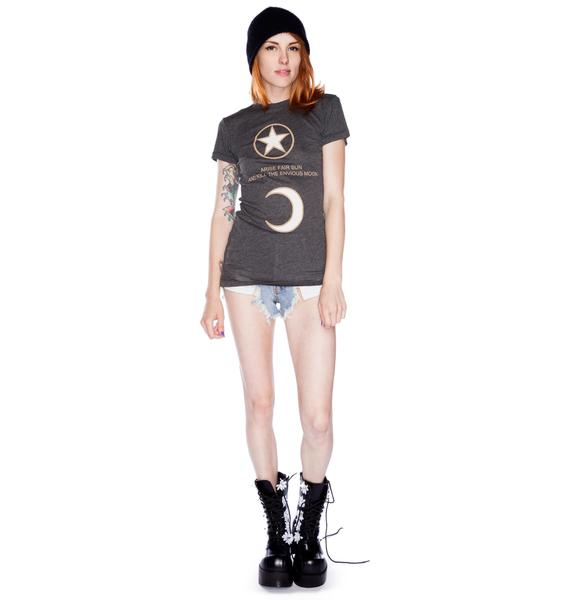 Wildfox Couture Arise Fair Sun Skinny Tee