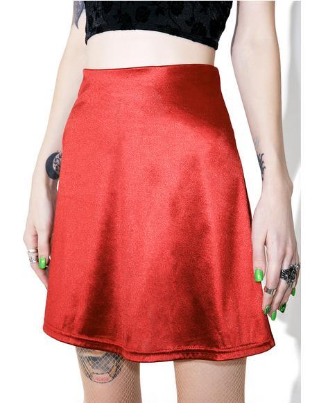 Night Jewel Mini Skirt