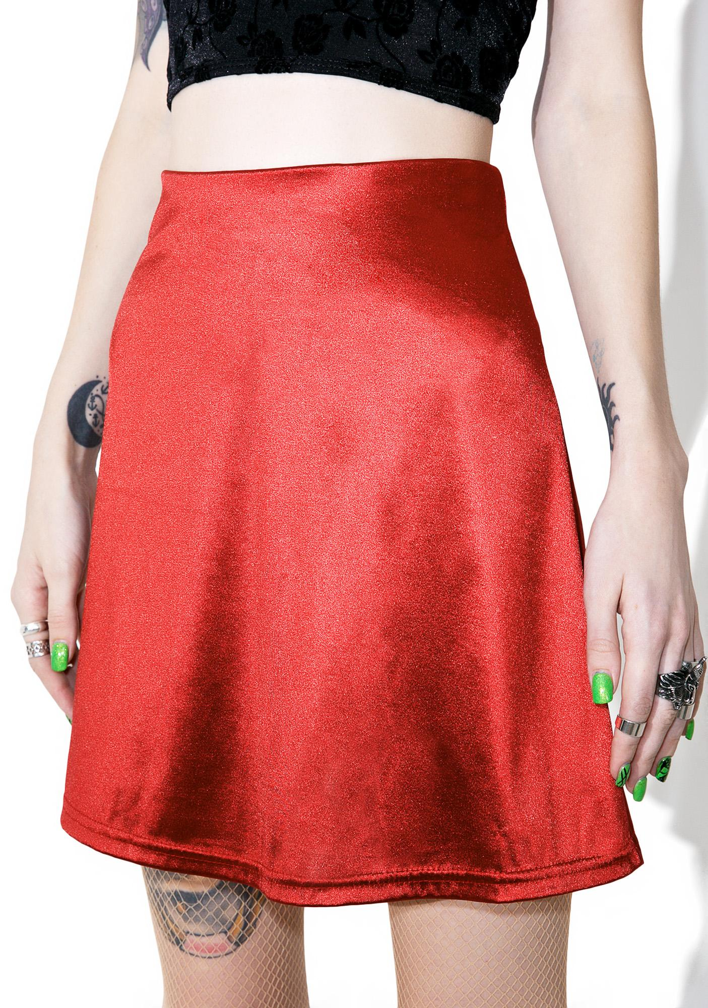 Night Jewel Mini Skirt