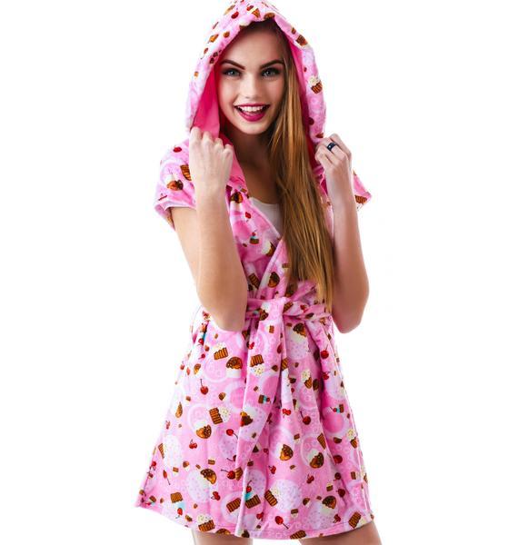 J Valentine Sweet Treat Cupcake Robe