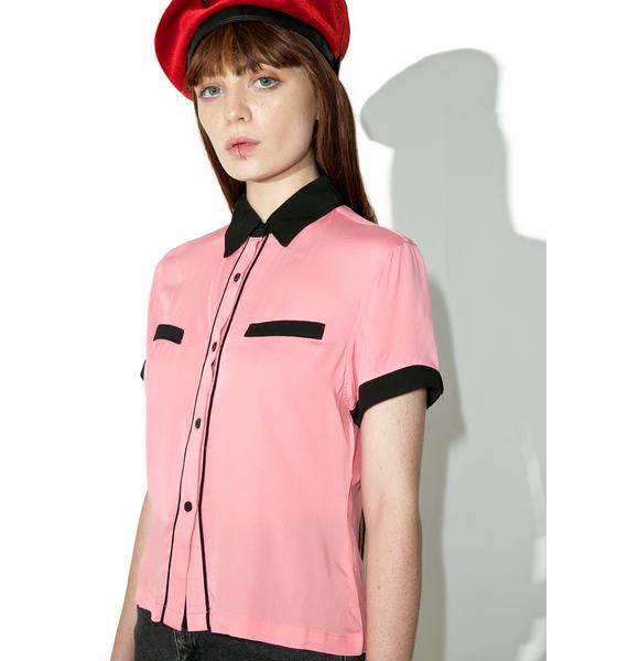 Lazy Oaf Bad Luck Greaser Shirt