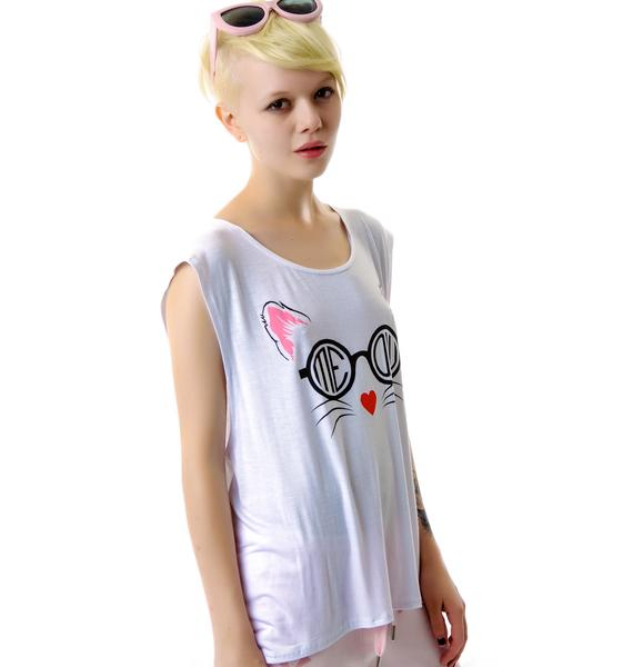 Our Prince of Peace Meow Tomboy Tank