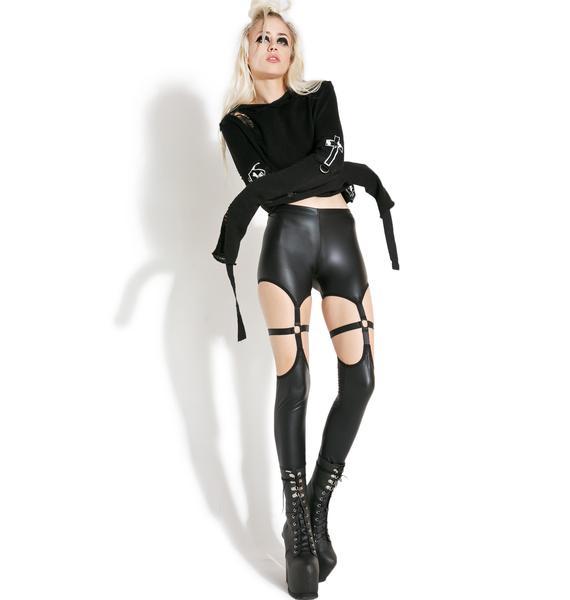 Current Mood Asylum Harness Leggings