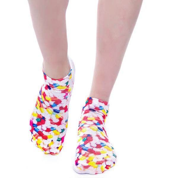 Just Like A Pill Ankle Socks