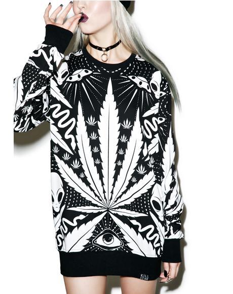 Space Grass Sweatshirt