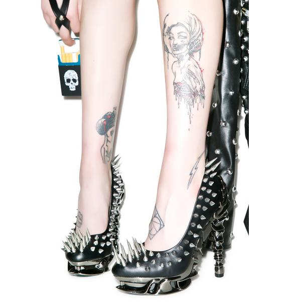 Hades Footwear Zetta Platform Heels