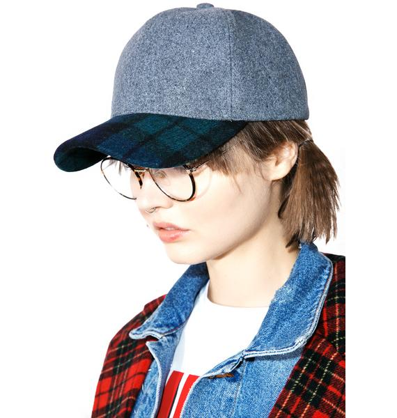 Nightbreak Plaid Dad Hat
