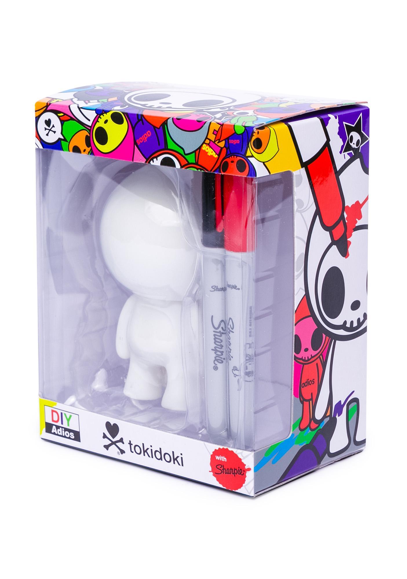 Tokidoki DIY Adios Vinyl Toy