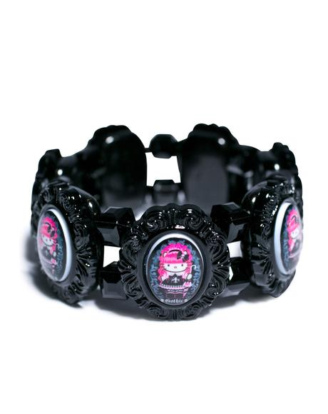 Gothic Lolita Cuff Bracelet