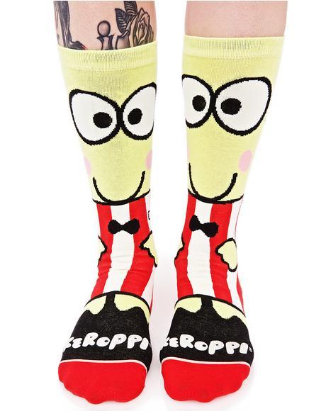 Keroppi Crew Sock