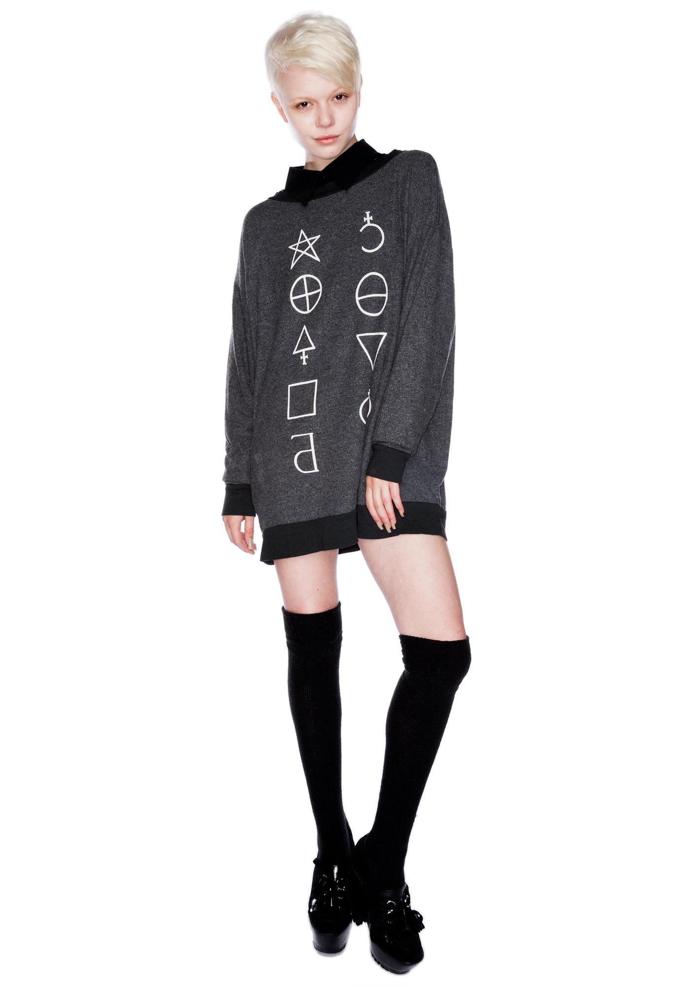Wildfox Couture Star Signs Roadtrip Sweater Dress