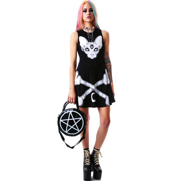 Killstar Third Eye Skater Dress
