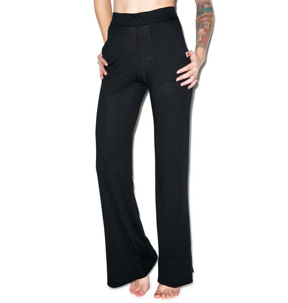 Wildfox Couture Classic Fox Wide Leg Pants