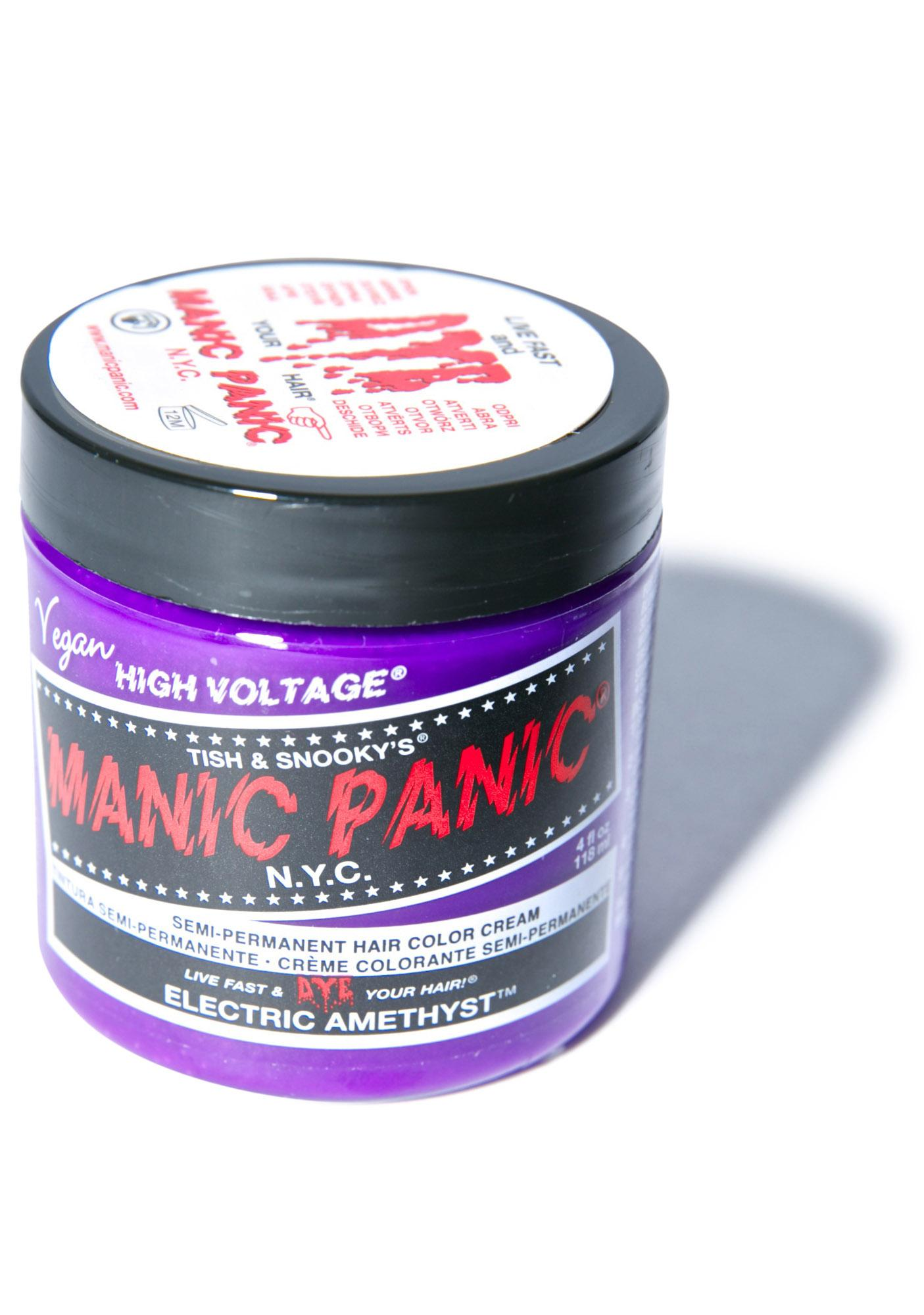 electric amethyst manic panic - photo #32