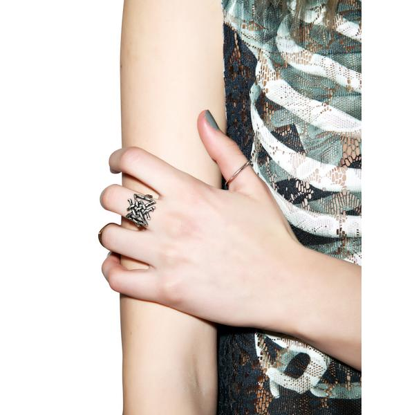 Disturbia Longevity Rune Ring