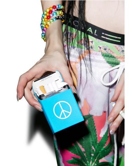 Peace Out Cigarette Case