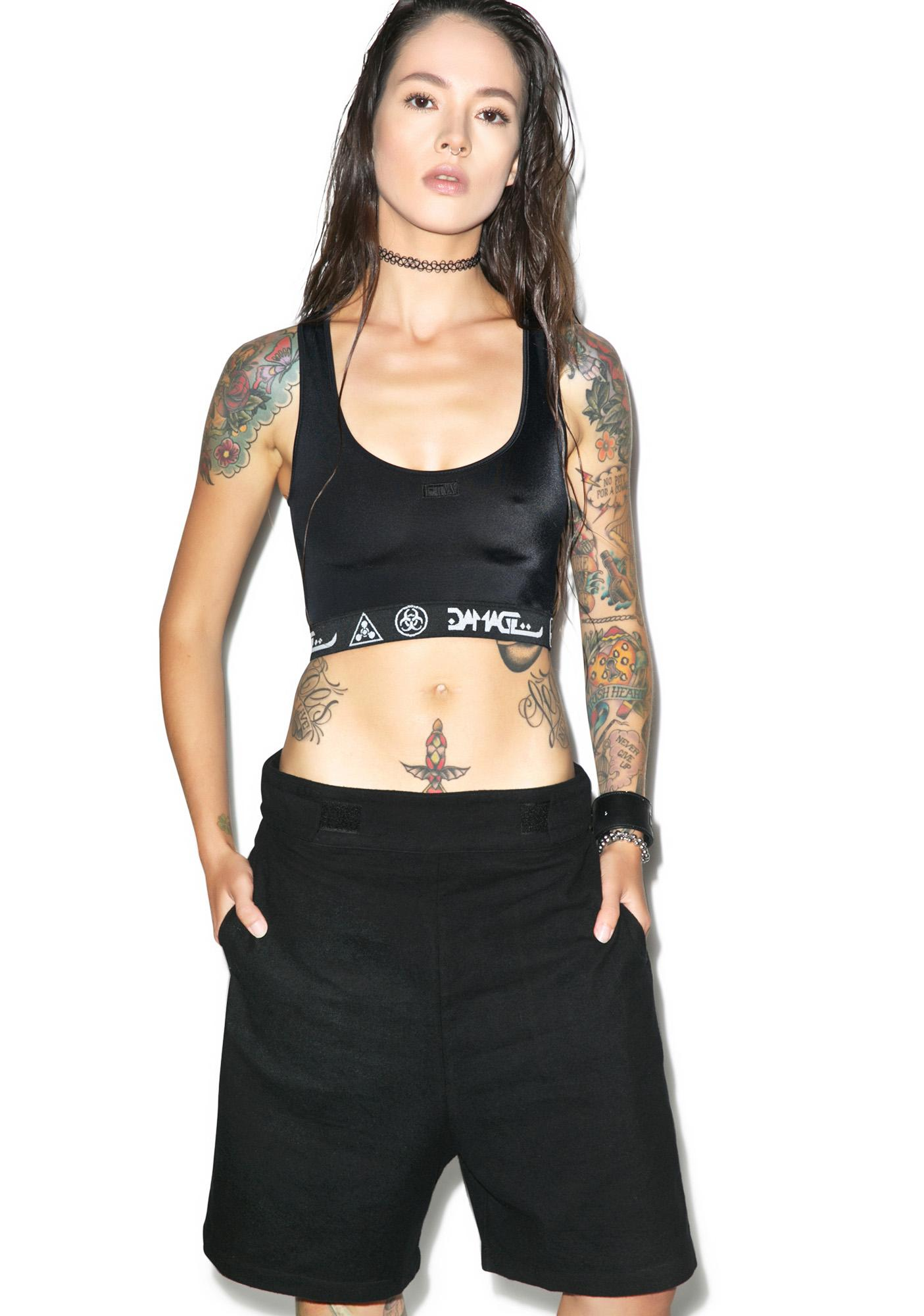 Long Clothing Subculture Shorts