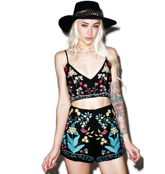 Night Bloom Shorts