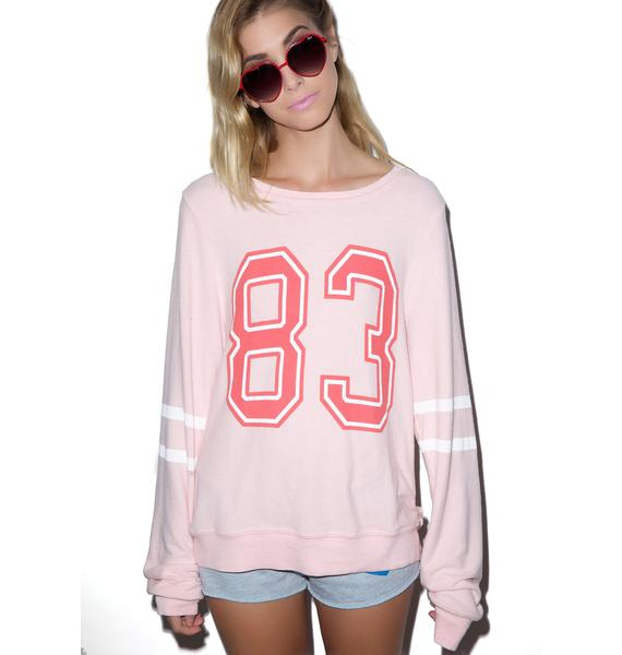 Wildfox Couture Sporty 83 Baggy Beach Jumper