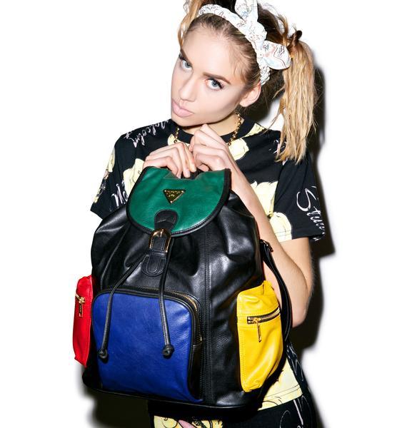 Joyrich Progressive Color Block Mini Backpack