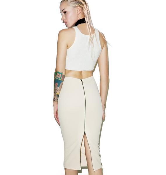 Bare Bad Rep Midi Skirt