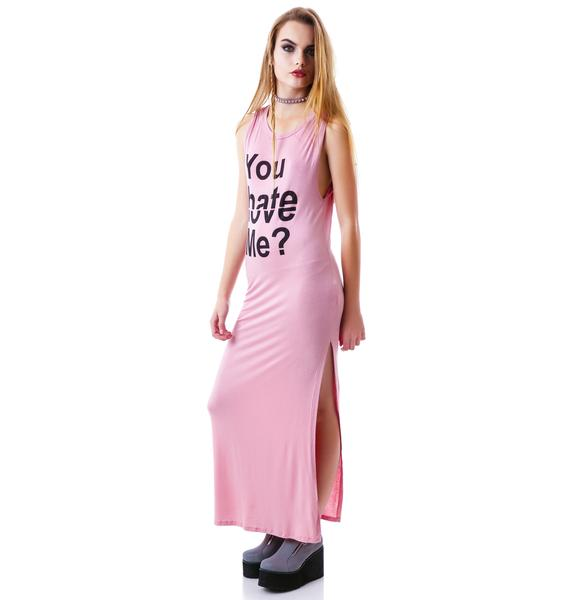 Love to Hate Statement Maxi Dress