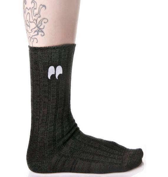 Lazy Oaf Watching Eye Socks
