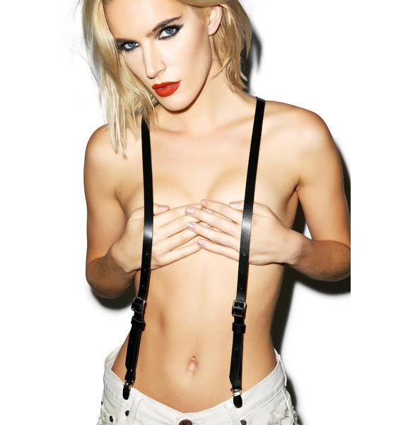 JAKIMAC Womens Matte Suspenders