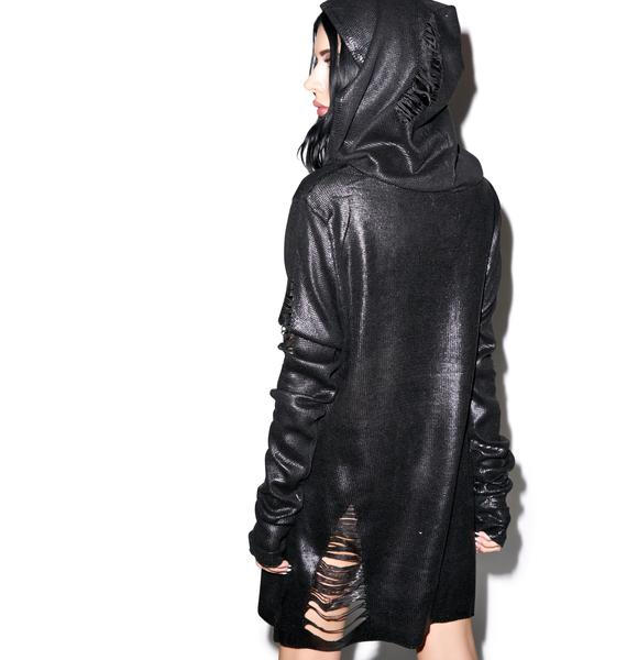 Widow The End Foil Hoodie