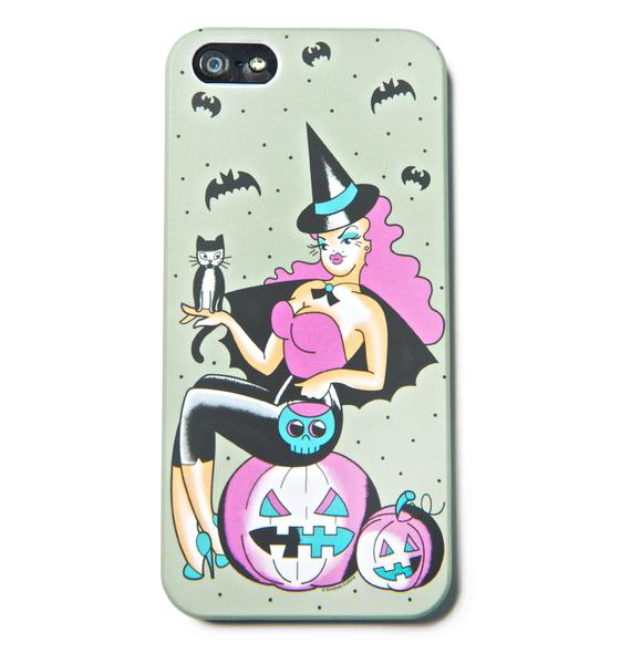 Sourpuss Clothing Witchy Gal iPhone 5 Case