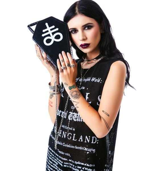 Killstar Coffin Handbag