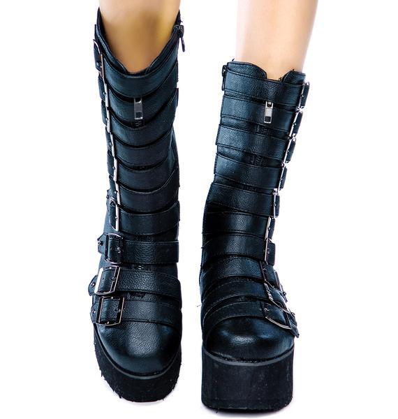 MTNG Paris Platform Boots